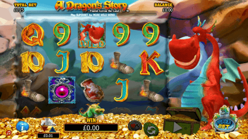 A Dragon's Story uk slot game