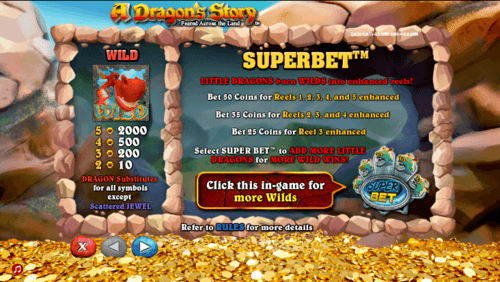 A Dragon's Story slot game