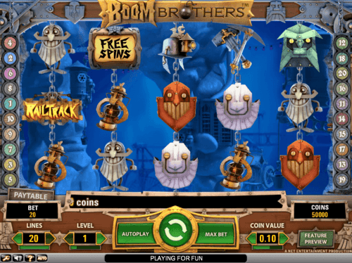Boom Brothers online slot game