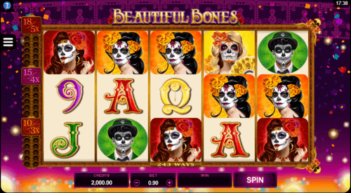Beautiful Bones uk slot game