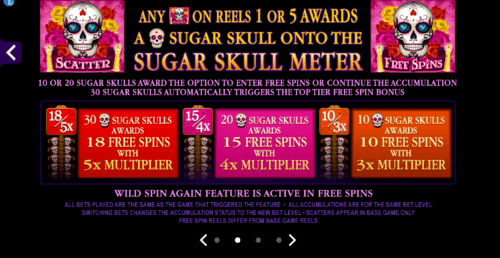 Beautiful Bones online slot game