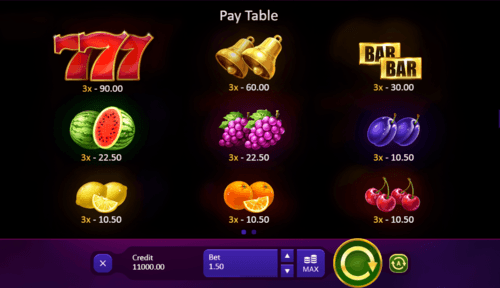 Burning Wins online slot game