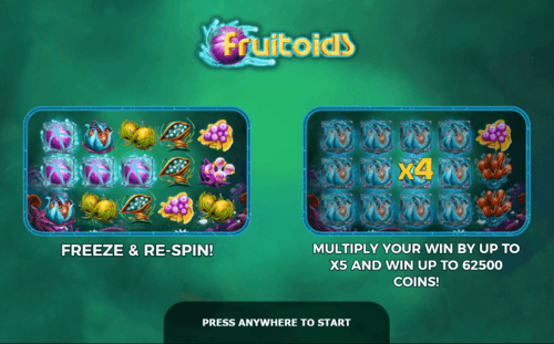 Fruitoids online slot game