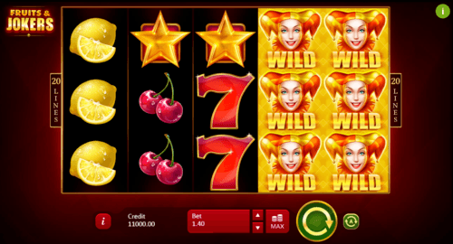 Fruits & Jokers uk slot
