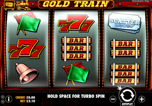 Gold Train UK online slot game