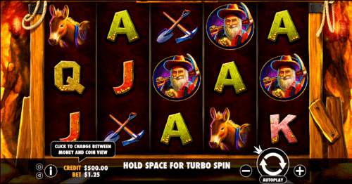 gold rush uk slot game