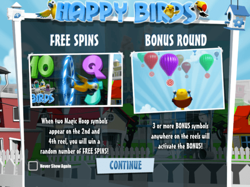 happy birds online slot game