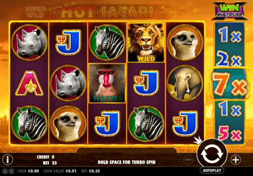 Hot Safari uk slot