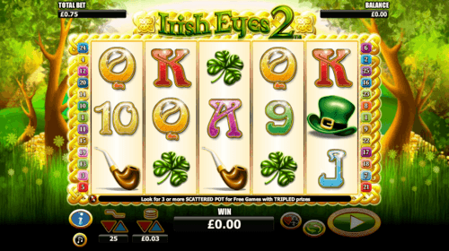 Irish Eyes 2 UK online slot game