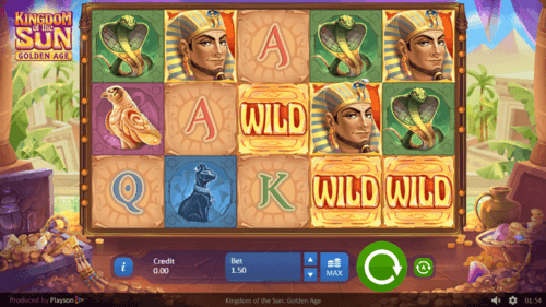 Kingdom of The Sun: Golden Age online slot