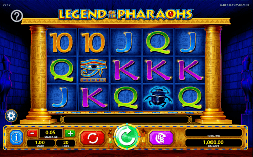 Legend Of The Pharaohs slot game