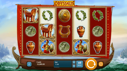 Odysseus UK online slot game