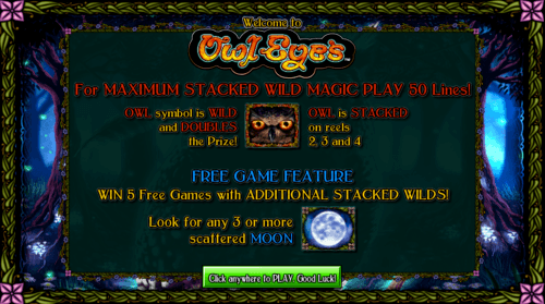Owl Eyes online slot game