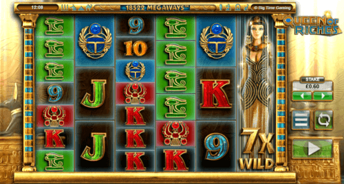 Queen Of Riches UK online slot game