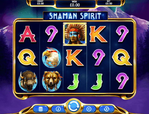 Shaman Spirit UK online slot game