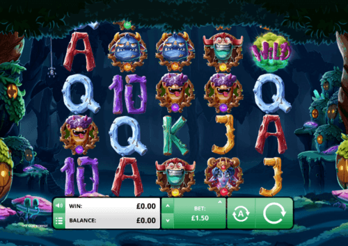 The Odd Forest UK online slot game
