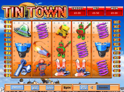 Tin Town uk slot game