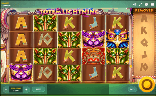 Totem Lightning UK online slot game