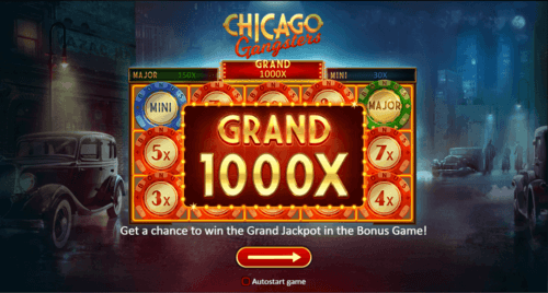 Chicago Gangsters online slot game