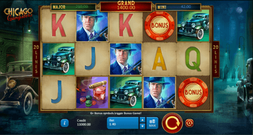 Chicago Gangsters uk slot game