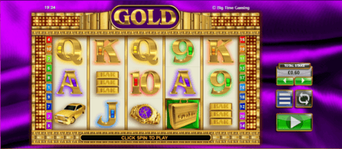 Gold UK online slot game