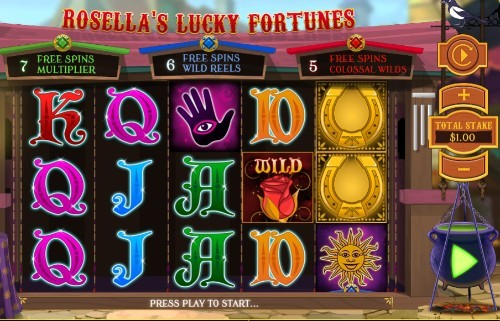 Rosellas Lucky Fortune UK online slot game