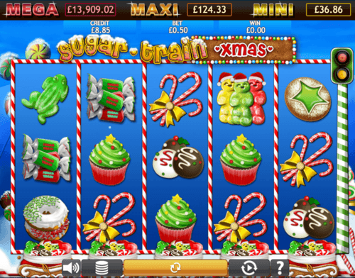 Sugar Train Xmas Jackpot UK online slot game