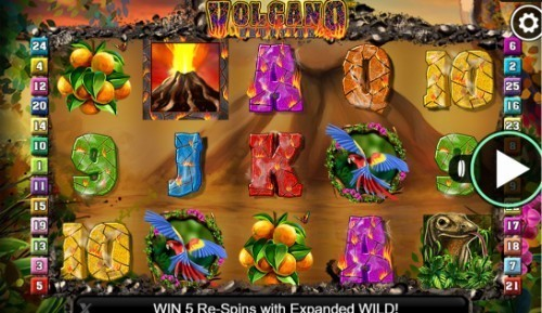 Volcano Eruption UK slot game